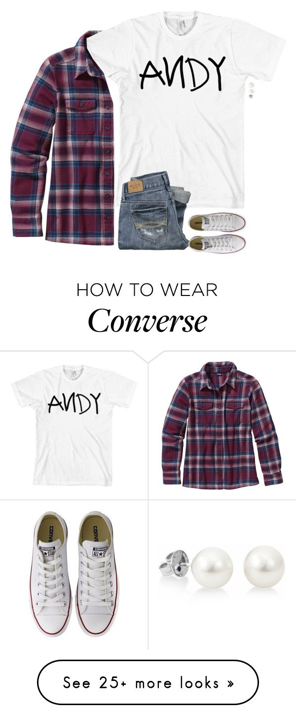 """Andys coming!"" by southernstruttin on Polyvore featuring American Apparel, Patagonia, Abercrombie & Fitch and Converse"