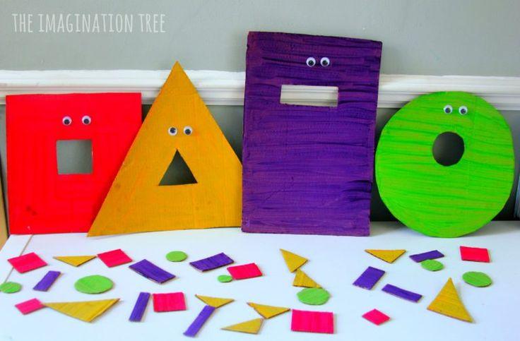 Alimentar a los monstruos forma de juego de clasificación de forma para los niños!