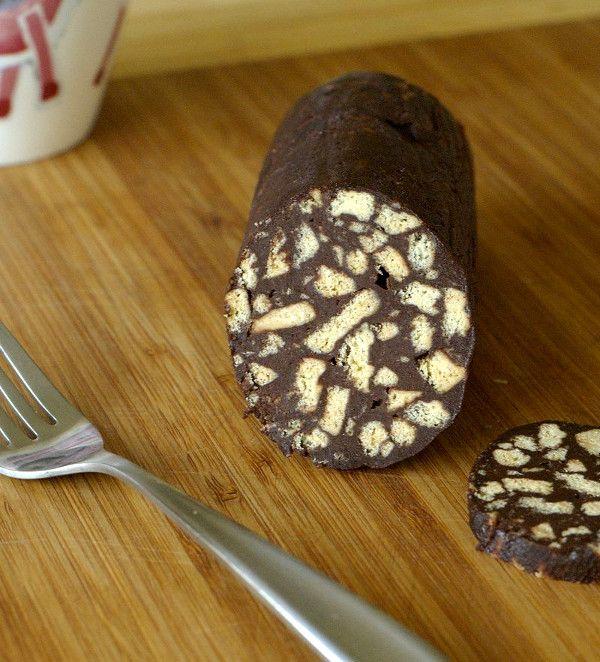 Шоколадная колбаса 1