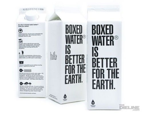 boxed water