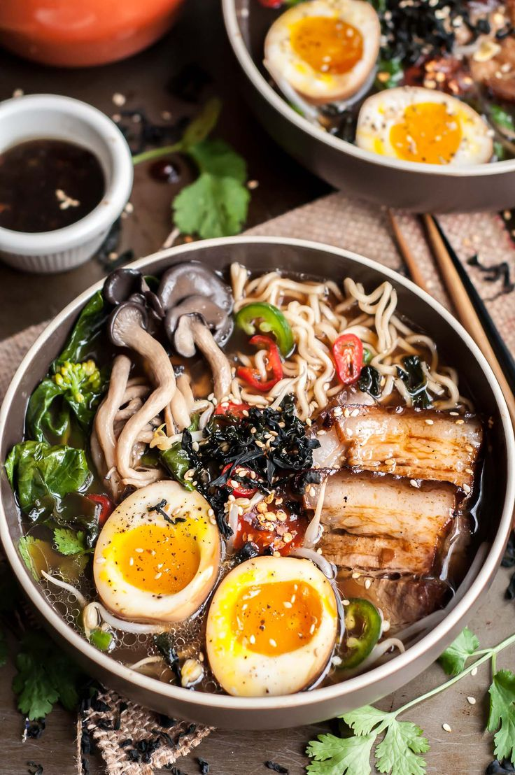 This Miso Chashu Ramen has rich and deeply flavored broth laced with earthy hatcho miso, served with my favorite ramen toppings. Made in 1 hr!