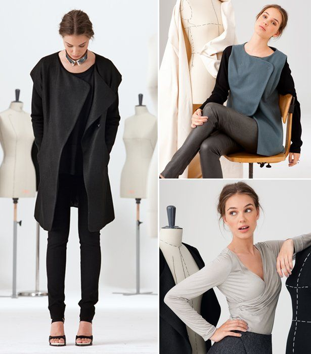 I love everything about this collection from Burda.  Modern Minimalist: 11 New Patterns