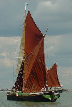 Sailing Barge Henry, River Thames