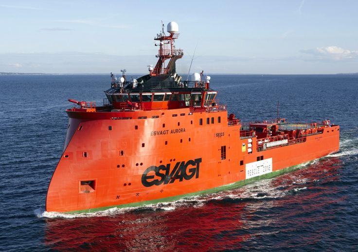 ESVAGT AURORA - Rescue & Standby Vessel                                                                                                                                                     もっと見る