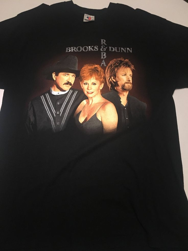 A personal favorite from my Etsy shop https://www.etsy.com/listing/554402501/awesome-brooks-dunn-reba-tour-98-t-shirt