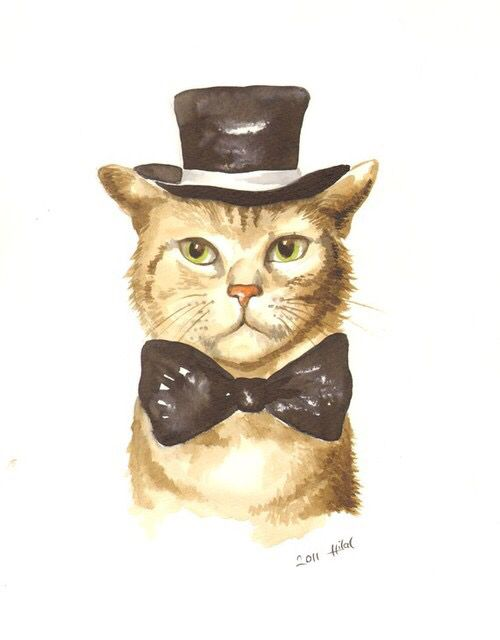 130 best Animals in Clothes Art images on Pinterest ...