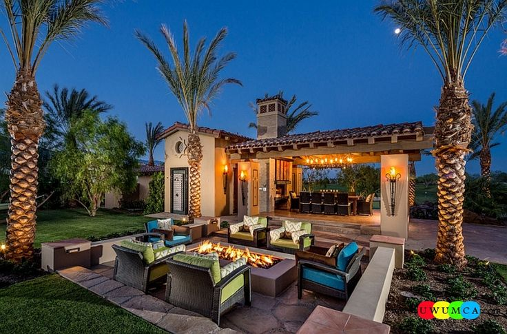 Outdoor / Gardening:Create Outdoor Lounge With Sunken Seating Area Ideas Build Conversation Pits Sunken Sitting Areas In Pool Garden Outside Decor Design Mediterranean Style Patio With Sunken Seating And Luxury Pool Elevate The Style Quotient Of Your Outdoor Lounge With Sunken Seating Area