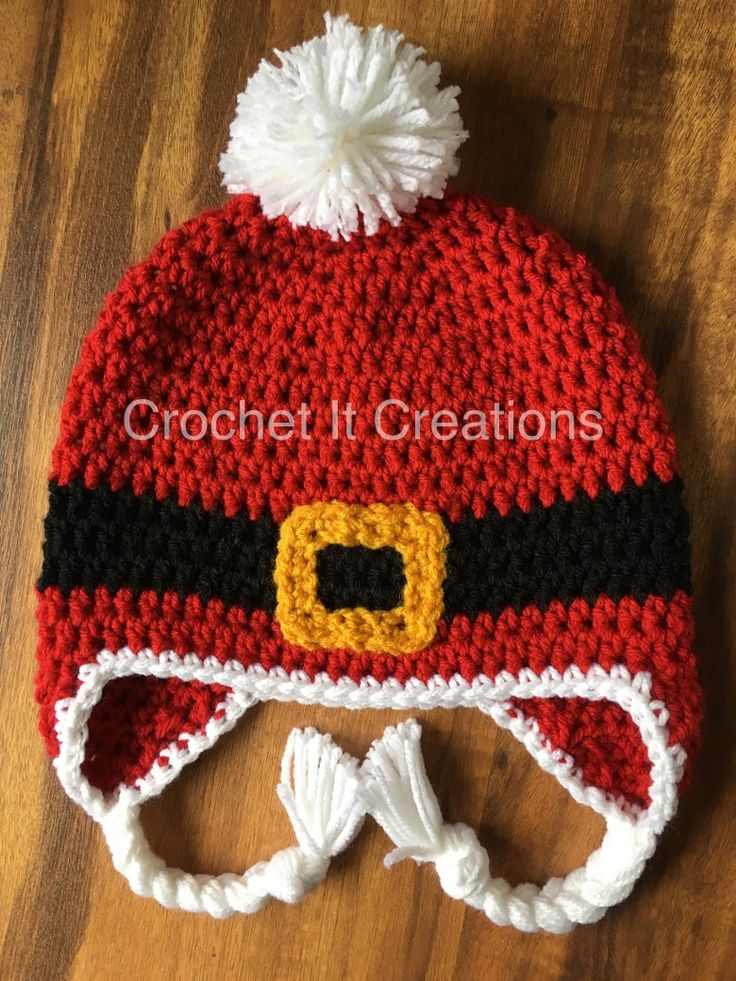 Enjoy this adorable FREE Santa Baby crochet hat pattern by Crochet It Creations! This will be perfect to keep you or your little one perfect during the holidays.