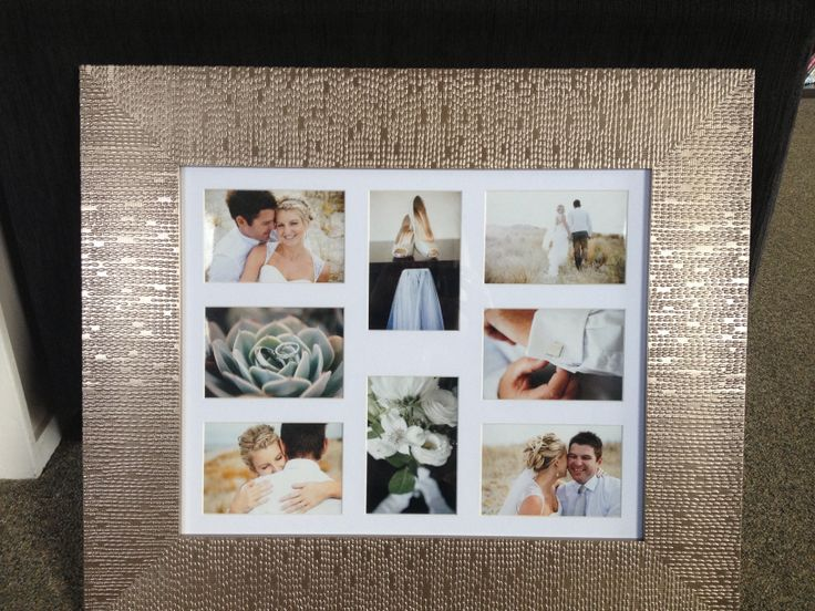 Our day in photos, love love love this frame we found!