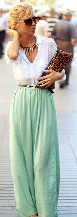 Palazzo Pants With Long Shirts Trends 2014 For Girls