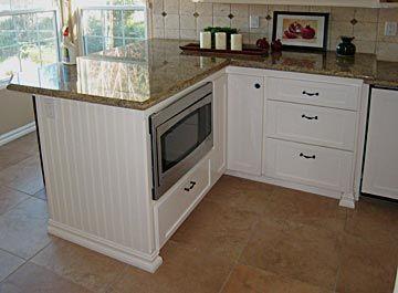 8 best Microwave cabinet images on Pinterest | Kitchen ideas ...