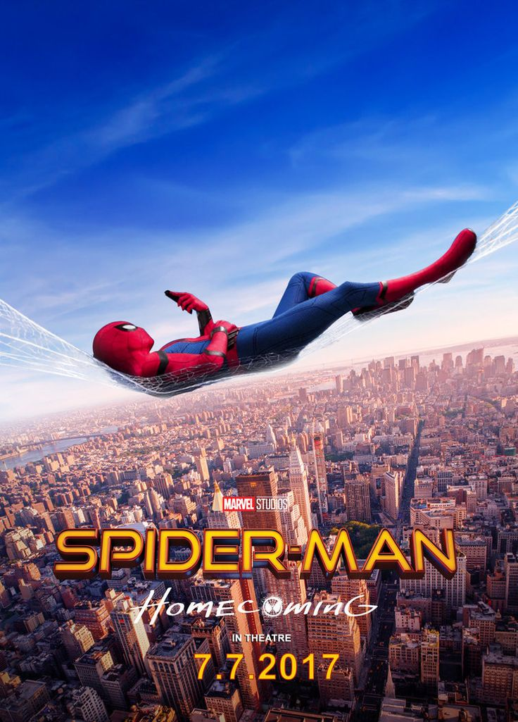 Spiderman Homecoming 2017 Poster V2 by edaba7.deviantart.com on @DeviantArt