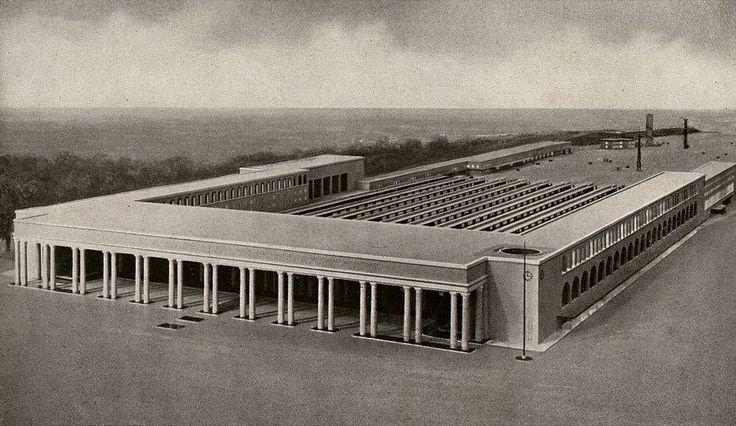 Angiolo Mazzoni - Progetto per la stazione Termini (1939)