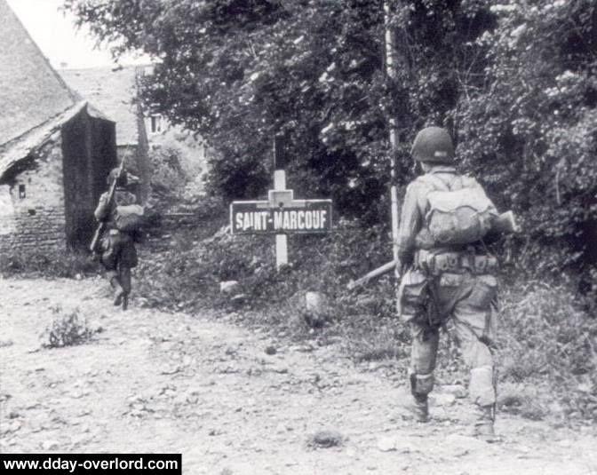 D-Day | 82nd Airborne Division, 508th Parachute Infantry Regiment, HQ Company | Saint-Marcouf, Normandie https://www.facebook.com/Normandie1944.2014