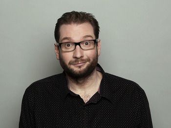 """Gary Delaney. Great one-liner comedian. More famous since doing """"Mock the Week"""" and marrying Sarah Millican"""