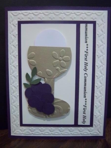First Communion card designs