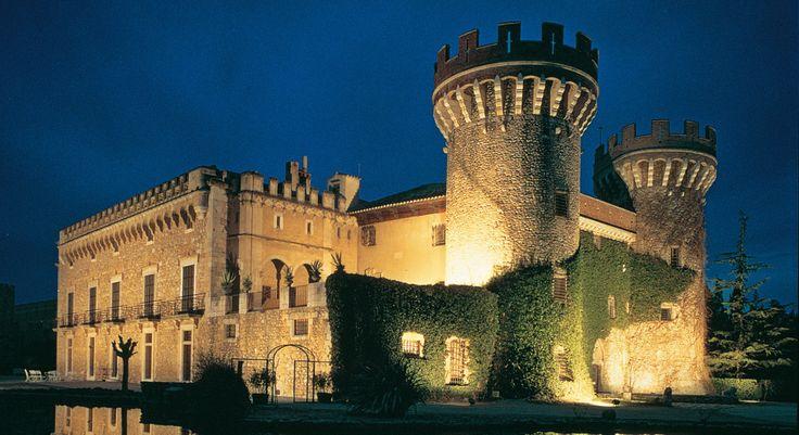 свадьба в замке в каталонии