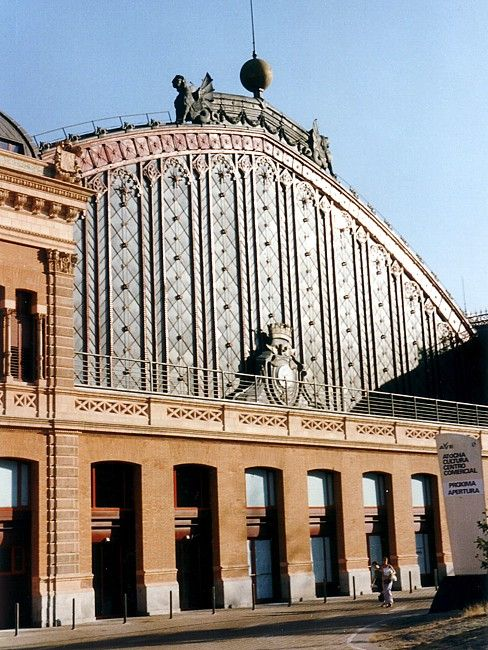 Atocha Station From here I went everywhere in Spain..All Puenta weekends started here