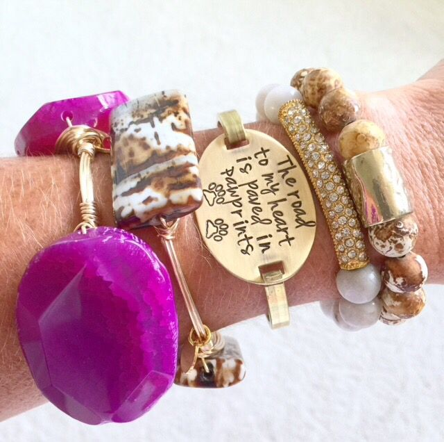 Paw Prints Bracelet