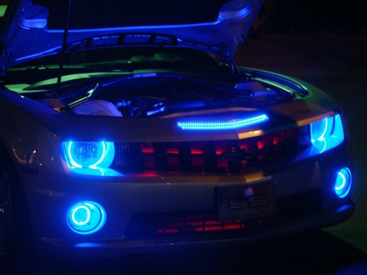 Camaro Halos Led Scanner And More Oracle Custom Lighting Pinterest Halo And Led