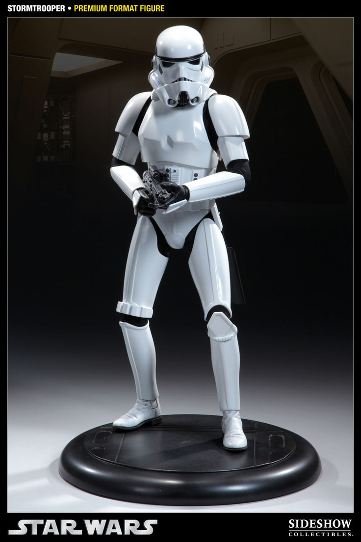 Estatua Star Wars Episodio II. Stormtrooper Premium Format, 50cm. Sideshow Collectibles