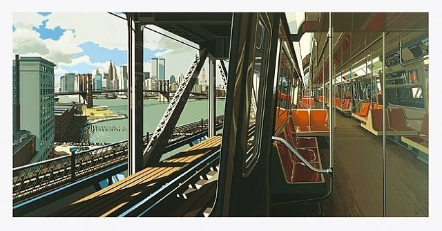 Richard Estes, D-Train 1988