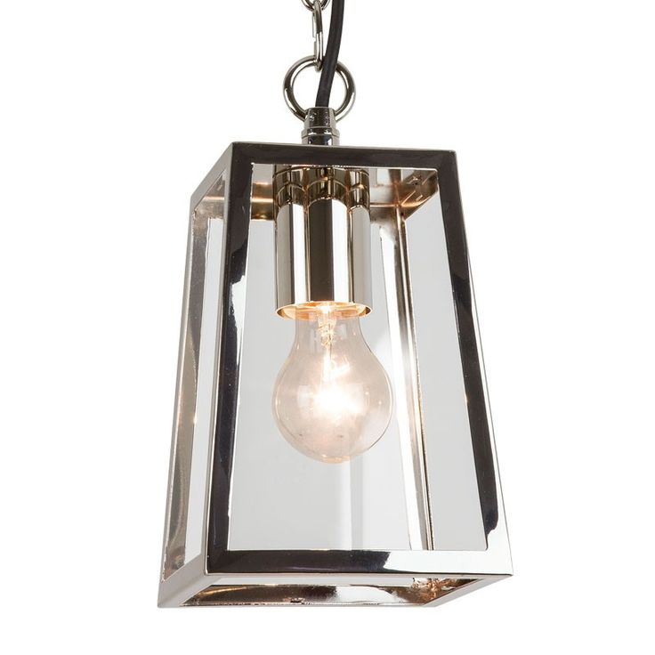 8 best outdoor nickel hanging lantern images on pinterest exterior calvi pendant porch lantern polished nickel from lighting direct buy online today free next day delivery available aloadofball Images