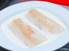Imagem intitulada Cook Cod Fillets Step 3 Filé de bacalhau na frigideira