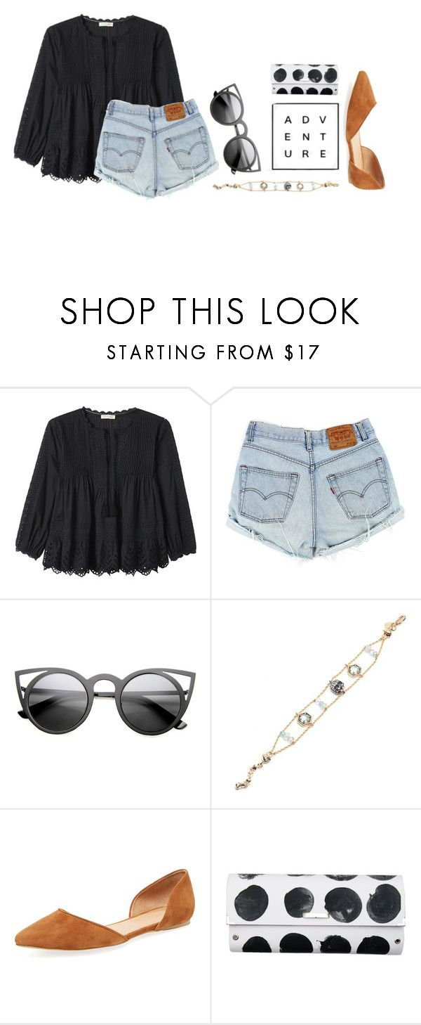 """""""Random draft"""" by ellasfluffycats ❤ liked on Polyvore featuring Rebecca Taylor, Alexis Bittar, Maiden Lane and Spanaki"""