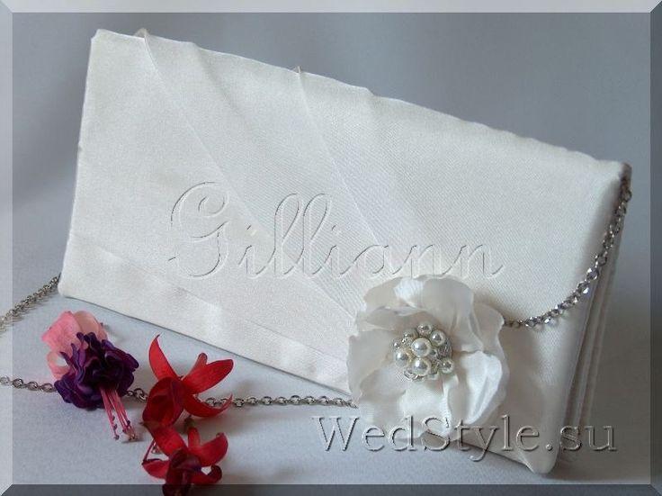 Свадебная сумочка клатч Gilliann Катрин BAG244 #weddingbag #weddingclutch