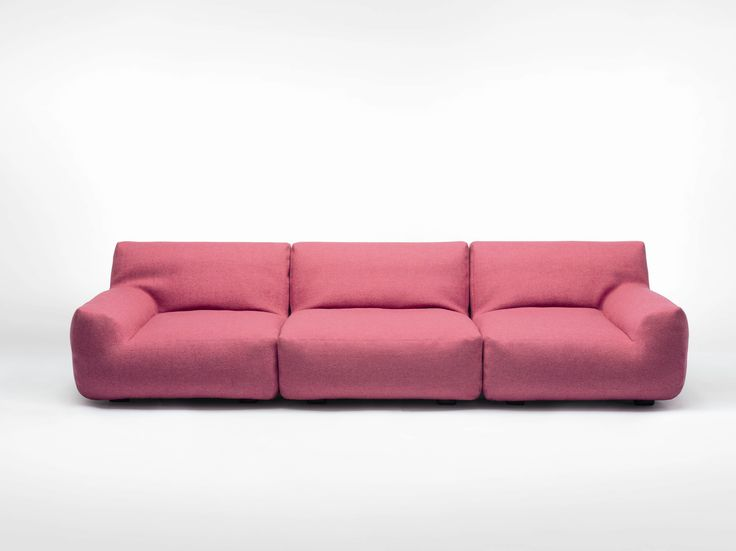 SECTIONAL SOFA WITH REMOVABLE COVER WELCOME AQUA COLLECTION BY PAOLA LENTI   DESIGN FRANCESCO ROTA