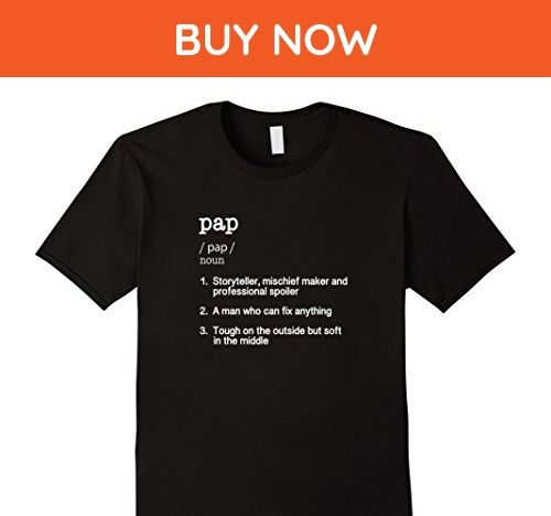 Mens Pap Definition T Shirt - Funny Father's Day Gift Tee XL Black - Holiday and seasonal shirts (*Amazon Partner-Link)