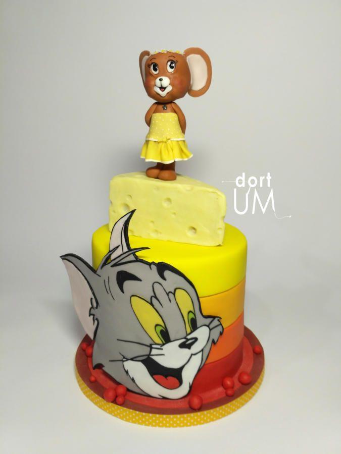 Tom (he) and Jerry (she) by sarka finsterlova