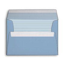 Polo Blue Striped Envelopes