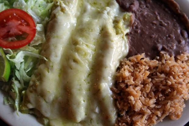 Green Enchiladas with Rotisserie Chicken | Dallasnews.com - News for Dallas, Texas - The Dallas Morning News