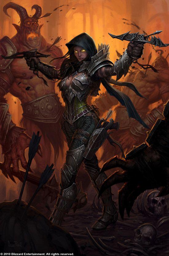 ночная эльфийка охотница на демонов - Поиск в Google