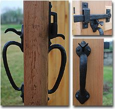 Superior Double Thumb Gate Latch