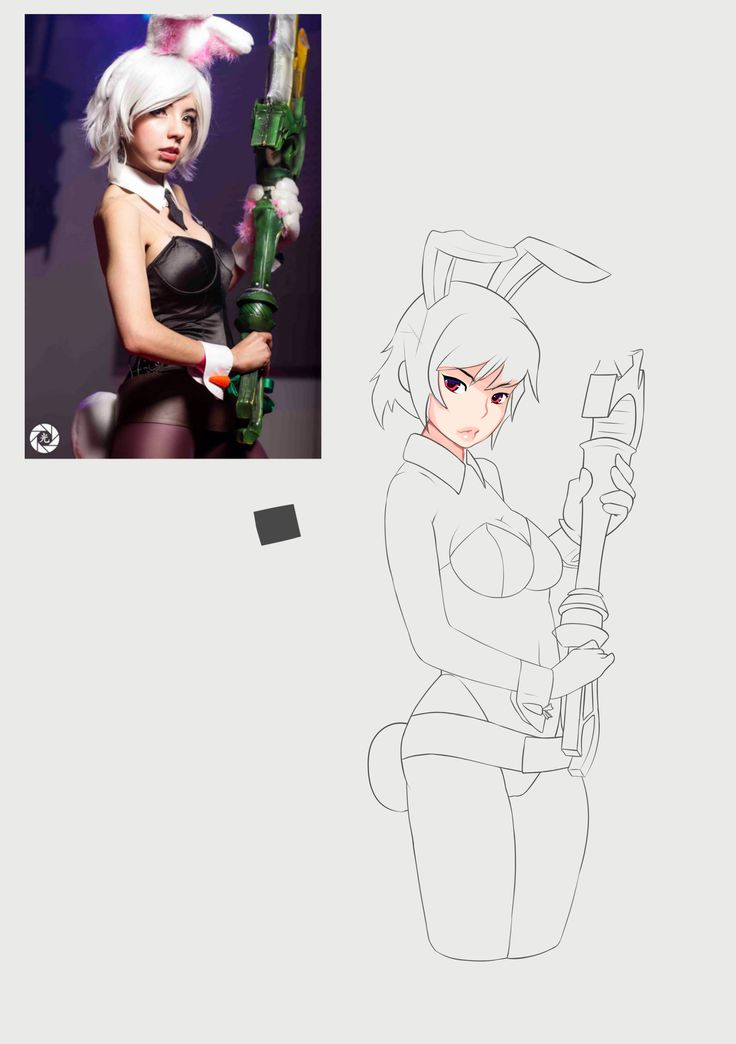30011914 riven [lol][sketch] by zamusmjolnir.deviantart.com on @DeviantArt