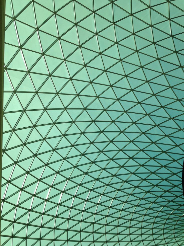 The British Museum main entrance hall. Wow.