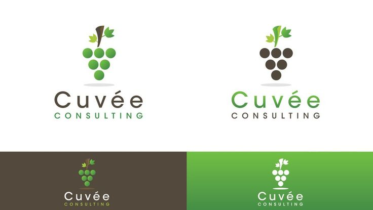 logo for Cuvée Consulting by Sector Nine Studios