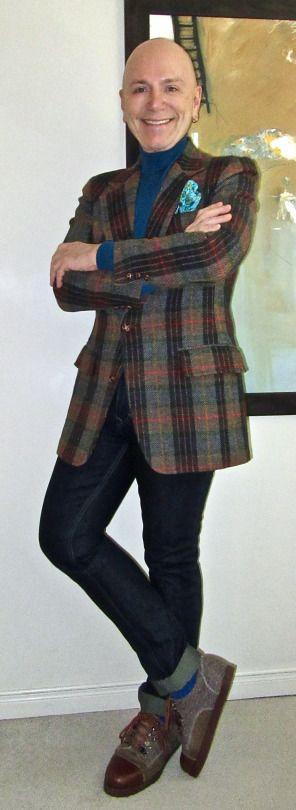 Colourful vintage tweed jacket, TOPMAN turtleneck, Calvin Klein jeans, Gran leather& tweed shoes...   #vintage #tweed # TOPMAN #turtleneck #CalvinKlein #Gran #Toronto #WIWT #sartorial #sartorialsplendour #sprezzatura #dandy #dandystyle #dapper #dapperstyle #menswear #mensweardaily #menshoes #menstyle #mensfashion #fashion