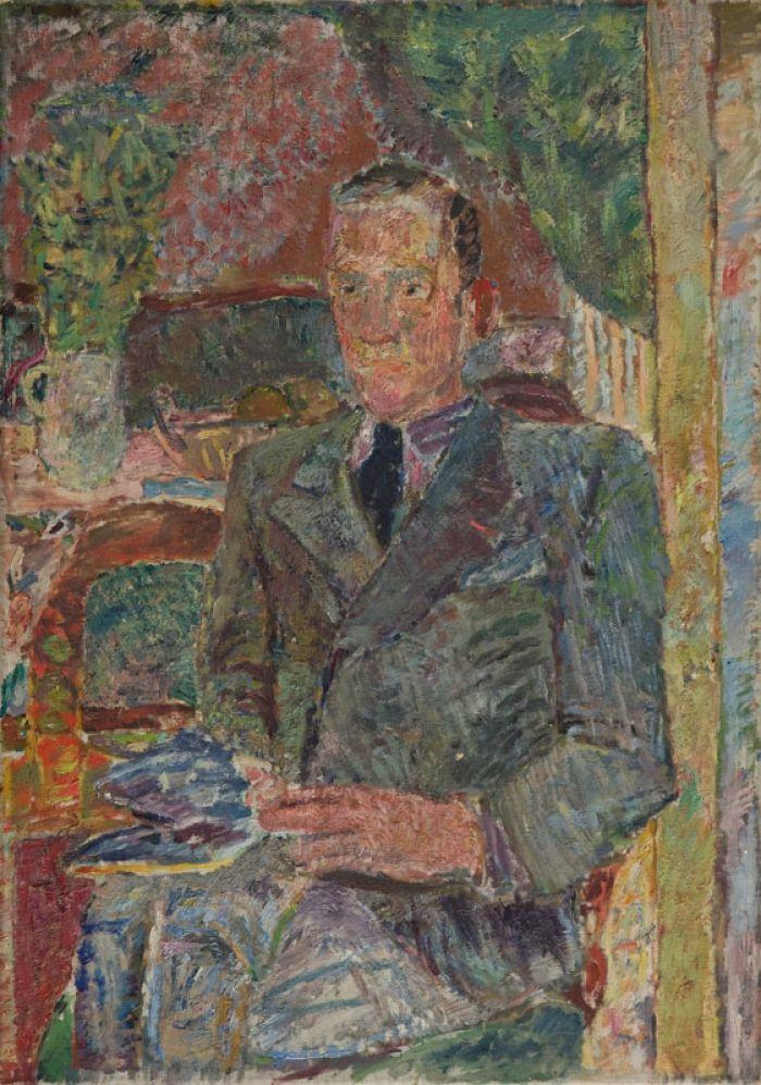 Jan Cybis - Portret mężczyzny, lata 30. XX w.