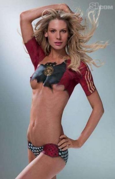 42 super Ideas body art painting girls sports illustrated swimsuit