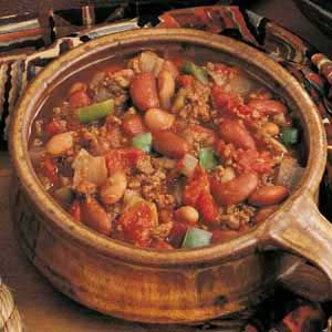 10.27-11.02 Slow Cook Day - Buffalo from Farmer's Market Buffalo Chili con Carne