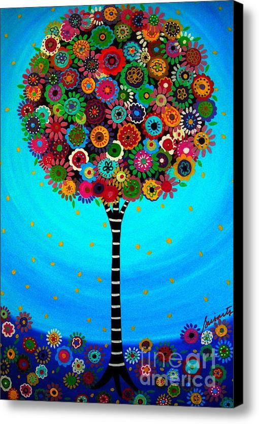 Tree Of Life Canvas Print / Canvas Art By Pristine Cartera Turkus