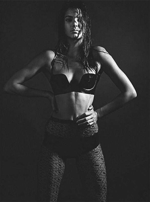 A peek at Kendall Jenner's spread for Love Magazine, shot by Mario Sorrenti // #Fashion
