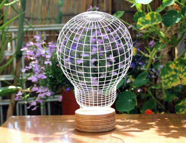 Studio Cheha's Bulbing LED Lamps Are Mind-Bending Optical Illu...  http://inhabitat.com/studio-chehas-bulbing-led-lamps-are-mind-bending-optical-illusions/bulbing-studio-cheha-led-lamp-6/