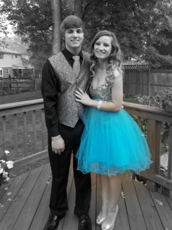 Nick & Kayla Homecoming Dance Picture