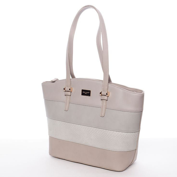 Elegantní pevná dámská kabelka přes rameno. Prostorná hlavní kapsa.  #kabelka #kabelky #móda #doplňky