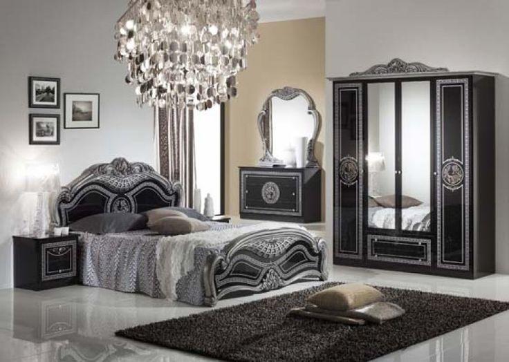 Laura hálószoba frágy-160+éjjeli, szekrény-4a, komód 3f+tükör, ezüst